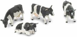 BRITAINS Fresian Cows Cattle 1:32 Plastic Farm Animals 40961