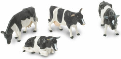 BRITAINS Fresian Cows Cattle 1:32 Plastic Farm Animals 40961
