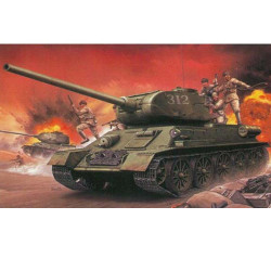 Dragon D9158 Chinese Volunteer T34/85 1:35 Plastic Model Tank Kit