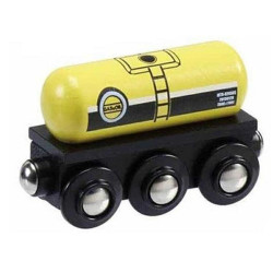 Gas & Oil Tanker for Wooden Railway Train Set 50805 - Brio Compatible