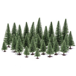 HORNBY SCALEXTRIC R7199 Hobby Fir Trees - OO Gauge Scenics