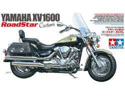 TAMIYA 14135 Yamaha Motorbike XV1600 Road Star Custom 1:12 Plastic Model Kit