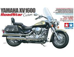 TAMIYA 14135 Yamaha Motorbike XV1600 Road Star Custom 1:24 Plastic Model Kit