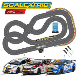 Scalextric Digital Bundle SL5 2019 ARC PRO C1404 3 Cars Jadlamracing Layout