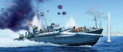 ITALERI Vosper 72''6' MTB 77 Royal Navy 5610 1:35 Ship Model Kit