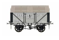 Dapol Lime Van Steetley Co Llynclys Weathered O Gauge DA7F-017-002W