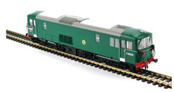 Dapol Class 73 E6002 BR Green No Yellow Panel OO Gauge DA4D-006-014