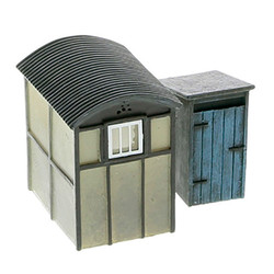 HORNBY Skaledale R9782 Utility Lamp Huts x2