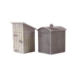 HORNBY Skaledale R9783 Lamp Huts x2