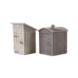 HORNBY Skaledale R9783 Lamp Huts x2