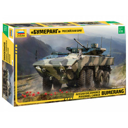 ZVEZDA Bumerang BM Russian Infantry Fighting Vehicle 1:35 Model Kit Z3696