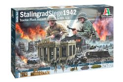 ITALERI Siege of Stalingrad WWII Battlescene 1:72 Plastic Model Kit 6193