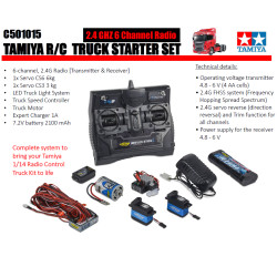 CARSON Tamiya Truck 'All In One' RC Starter Pack C501015