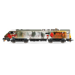 Hornby Loco R3892 VTEC, Class 91, Bo-Bo, 91111 'For the Fallen' - Era 10