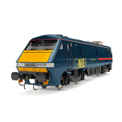 Hornby Loco R3893 GNER, Class 91, Bo-Bo, 91117 'Cancer Research UK' - Era 10