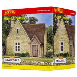 Hornby Skaledale Building R7265 Alms Houses OO Gauge Building