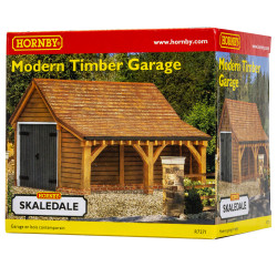 Hornby Skaledale Building R7271 Modern Timber Garage