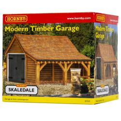 Hornby Skaledale Building R7271 Modern Timber Garage OO Gauge Building