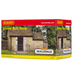 Hornby Skaledale Building R7272 Stone Bus Stop