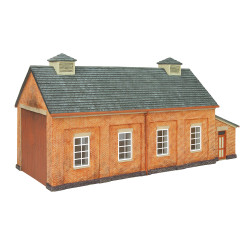 Hornby Skaledale Building R7283 GWR Engine Shed