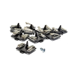 Micro Scalextric Car G8047 Spare Guide Blade Pack of 8 with Screw