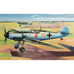 Airfix A12002V Messerschmitt Bf109E 1:24 Plastic Model Kit