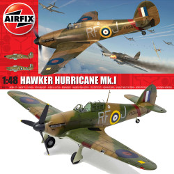 Airfix A05127A Hawker Hurricane Mk.1 1:48 Plastic Model Kit