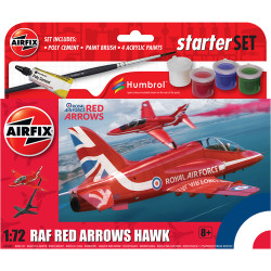 Airfix A55002 Small Beginners Set Red Arrows Hawk 1:72 Plastic Model Kit