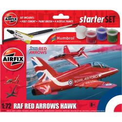 Airfix A55002 Small Beginners Set Red Arrows Hawk 1:72 Plastic Model Kit