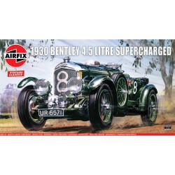 Airfix A20440V 1930 4.5 litre Bentley 1:12 Plastic Model Car Kit