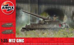 Airfix A1372 M12 GMC 1:35 Plastic Model Kit