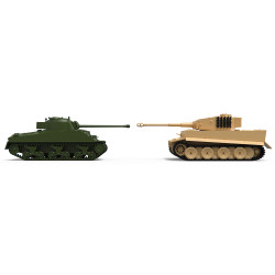 Airfix A50186 Classic Conflict Tiger 1 vs Sherman Firefly 1:72 Plastic Model Kit