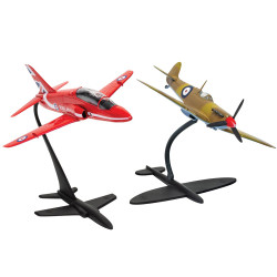 Airfix A50187 Best of British Spitfire and Hawk 1:72 Plastic Model Kit