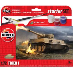 Airfix A55004 Small Beginners Set Tiger 1 1:72 Plastic Model Kit
