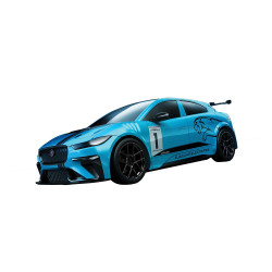 Airfix J6033 QUICKBUILD Jaguar I-PACE eTROPHY Plastic Model Kit