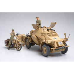 TAMIYA 35286 Armoured Car Sd.Kfz 222 Africa 1:35 Military Model Kit