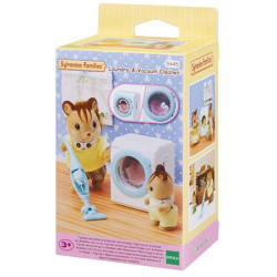 SYLVANIAN Families Laundry & Vacuum Cleaner Furniture 5445