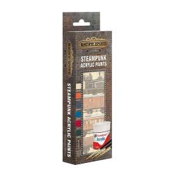 Bassett-Lowke AB9062 Steampunk Paint Pack Metallic Acrylic