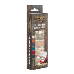 Bassett-Lowke AB9064 Steampunk Paint Pack workshop Matt Acrylic