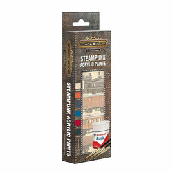 Bassett-Lowke AB9063 Steampunk Paint Pack Gloss Acrylic