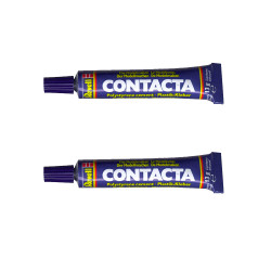 REVELL 39602 Twin Pack Contacta Polystyrene Cement 13g for Plastic Model Kits