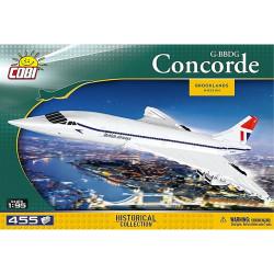 COBI 1917 Historical Collection G-BBDG Concorde 1:95 Construction Kit 450pcs