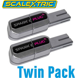 SCALEXTRIC C8333 Spark Plug Wireless Dongle - TWIN PACK