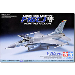 TAMIYA 60786 F-16 CJ Fighting Falcon 1:72 Aircraft Model Kit
