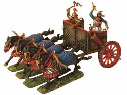Zvezda Model Kit Z8008 Persian Chariot And Cavalry 1:72