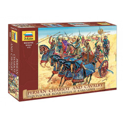 Zvezda Model Kit Z8008 Persian Chariot And Cavalry 1:72