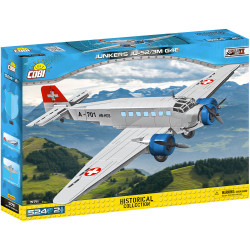 COBI 5711 Small Army Planes Junkers Ju-52 (Red Cross) 501pcs