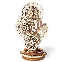 UGEARS Steampunk Clock 3D - Mechanical Wooden Model Kit 70093