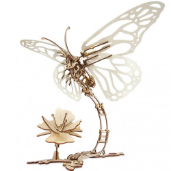 UGEARS Butterfly - Mechanical Wooden Model Kit 70081
