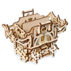 UGEARS Deck Box - Mechanical Wooden Model Kit 70071